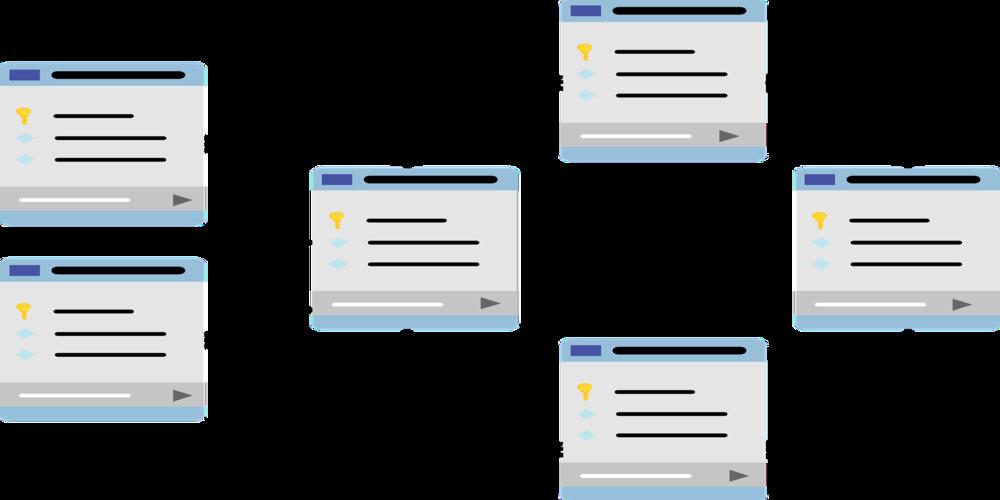 Schema di tabelle di un database relazionale
