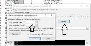 Funzionalità testo in colonne di Microsoft Excel